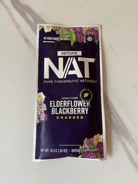 5 pack Elderflower Blackberry
