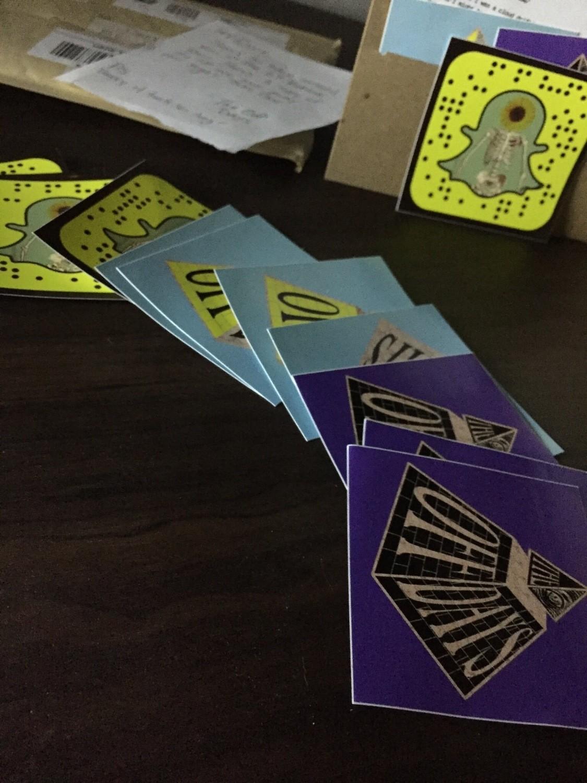 Pyramid Stickers