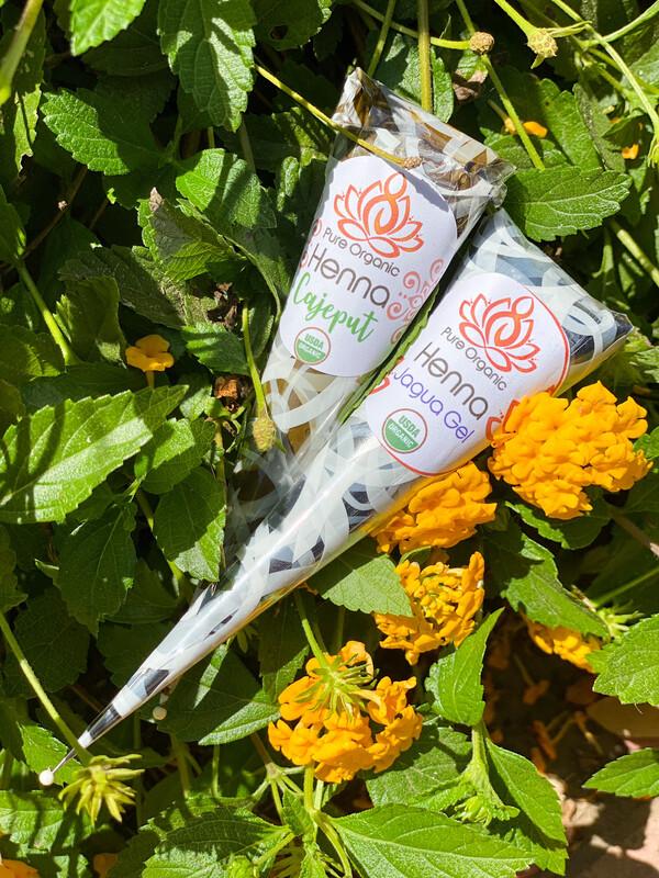 Pure Organic Henna Jagua Combo Cones