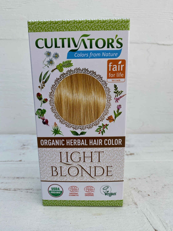 Organic Herbal Hair Color - Light Blonde