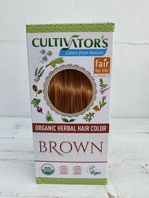 Organic Herbal Hair Color - Brown