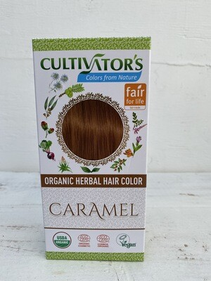 Organic Herbal Hair Color - Caramel