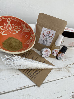 Pure Organic Henna DIY KIT Amateur