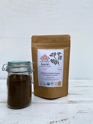 Pure Organic Ajwain Powder