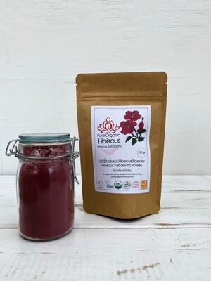 Pure Organic Hibiscus Powder
