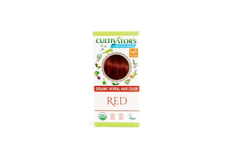 Organic Herbal Hair Color - Red