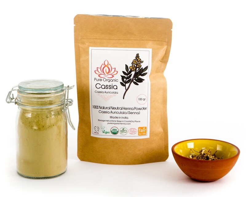 Pure Organic Cassia Powder