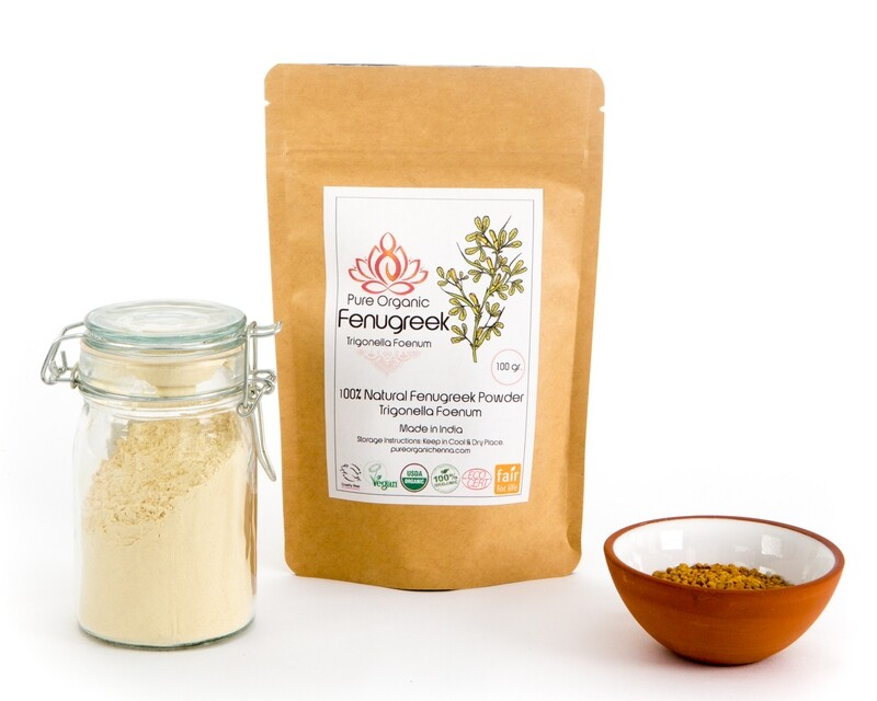 Pure Organic Fenugreek Powder
