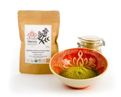 Pure Organic Henna Powder BAQ