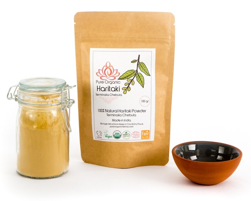 Pure Organic Haritaki Powder