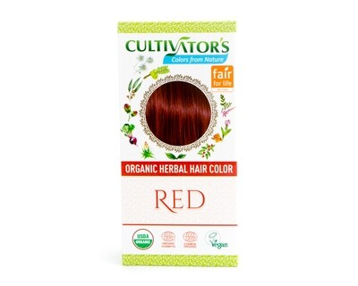 Organic Herbal Hair Color - Red