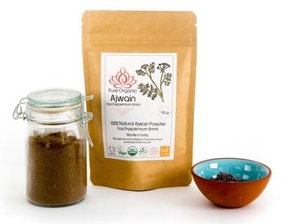 Pure Organic Ajwain Powder