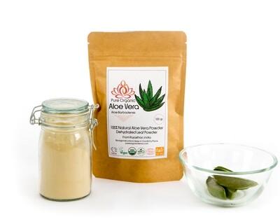 Pure Organic Aloe Vera Powder