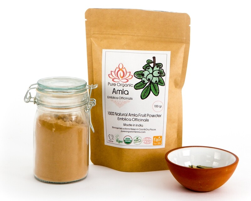 Pure Organic Amla Powder
