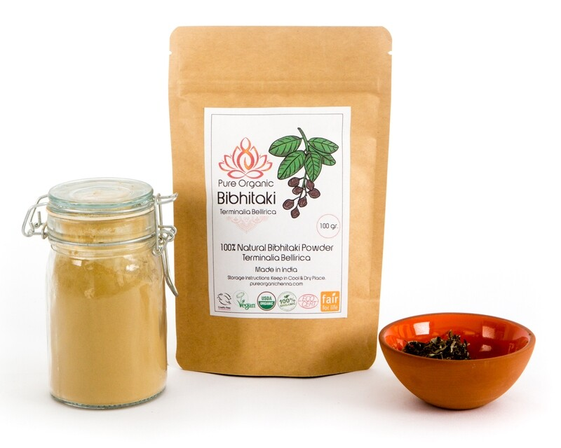 Pure Organic Bibhtaki Powder