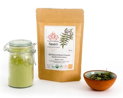 Pure Organic Neem Powder