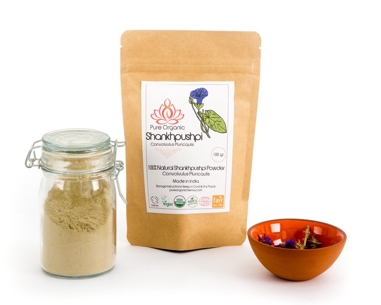 Pure Organic Shankhpushpi Powder