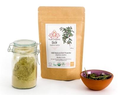 Pure Organic Sidr Ziziphus Powder