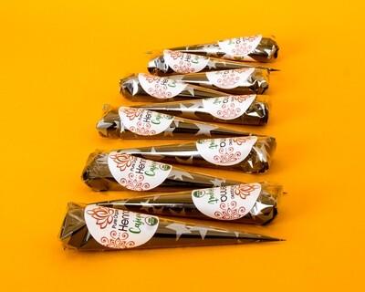 Pure Organic Henna Cones x10