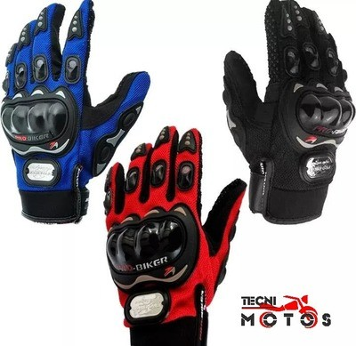 Guantes para motociclistas Pro Biker