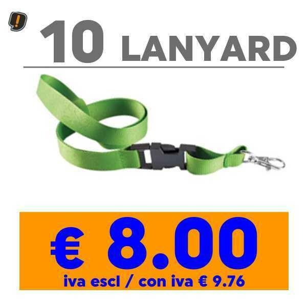 Lanyard 10 pz