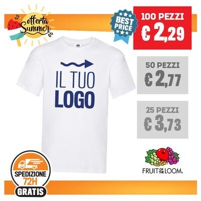 ✔ T-Shirt Bianca FOTL Personalizzata SPEDIZIONE GRATIS