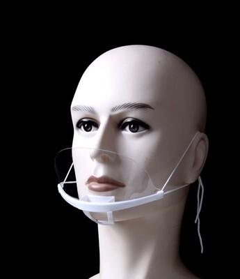 Plastik maske til PMU