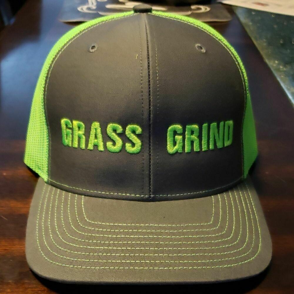 GRASS GRIND Snapback Hat