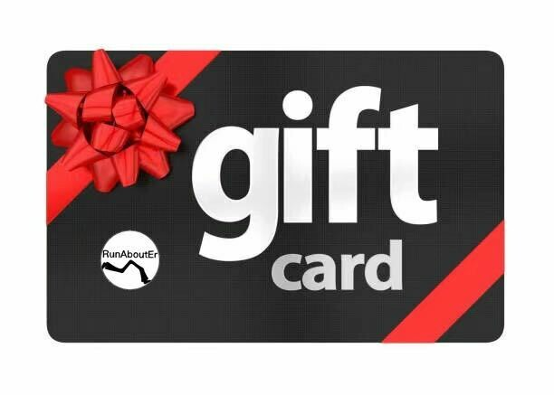 RunAboutEr Gift card