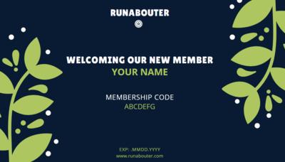 RunAbouter Membership