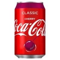 Cherry Coke Cans (GB) 24x330ml