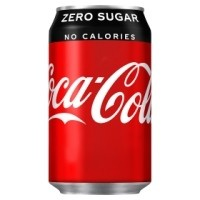 Coke ZERO  Cans 24x330ml