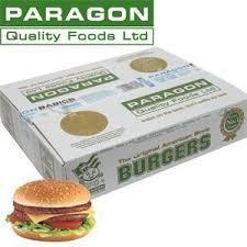 Economy Burger 48 x 113g Paragon