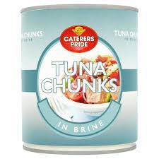 Tuna Chunks In Brine 1x1.88kilo