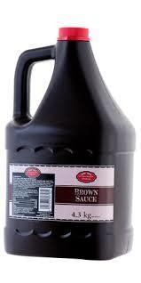 Brown Sauce 1 x 4.3 Kilo