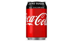 Zero Coca Cola Cans (GB) 24x330ml