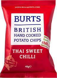 Burts Sweet Chilli  Crisps 20 x 20g