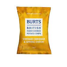 Burts Vintage Cheddar Crisps 1 x 20