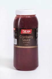 Cranberry Sauce 1x2.5kilo