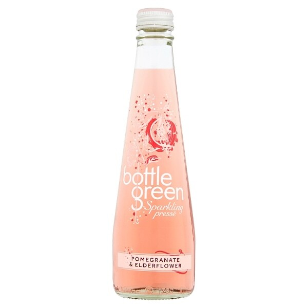 Bottlegreen Pomegran & Elderflower Presse 12 x 275ml