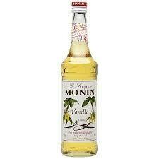 Monin Syrup Vanilla 1x70cl (Glass)