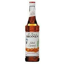 Monin Syrup Salted Caramel 1x70cl (Glass)