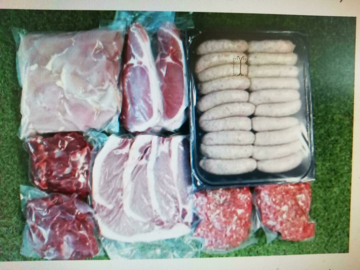 Essentials Meat  Box  Special No:180  Upgrade with the Mix & Match Offers