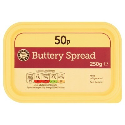 Euro Shopper Buttery Spread 1 x 250g