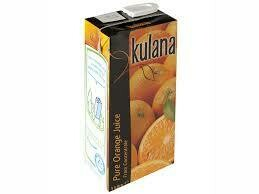 Orange Juice Carton 1 x 1Ltr
