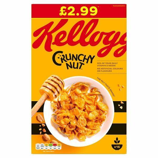 Kellogg Crunchy Nut Corn Flakes 1 x 500g