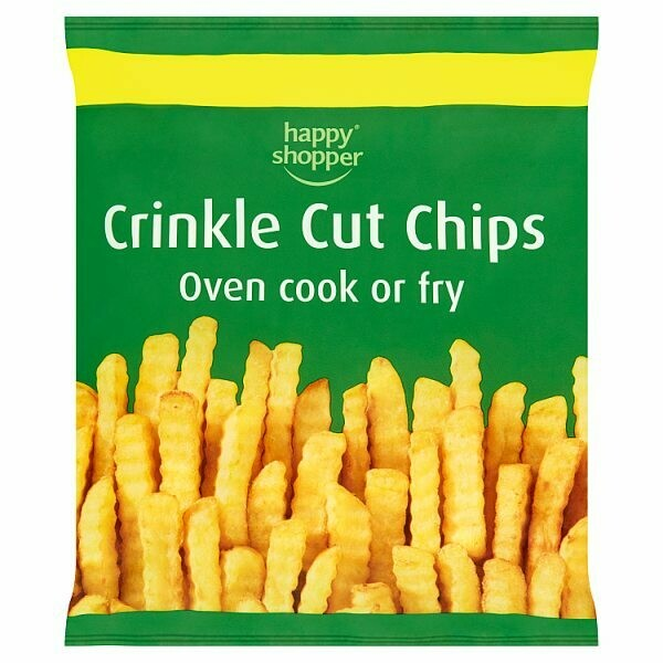 Happy Shopper Crinkle Chips 1 x 750g