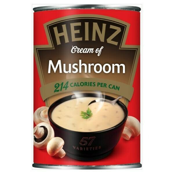 Heinz Mushroom Soup 1 x 400g