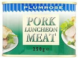 Plumrose Pork Luncheon Meat 1 x 250g