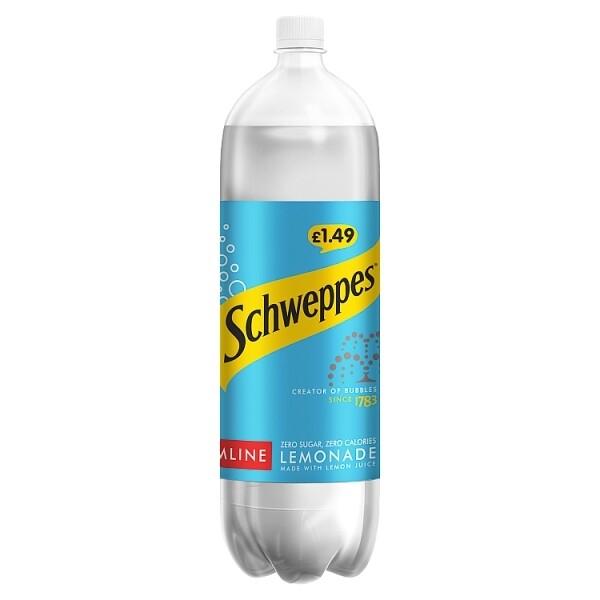 Schweppes Slimline Lemonade 1 x 2ltr